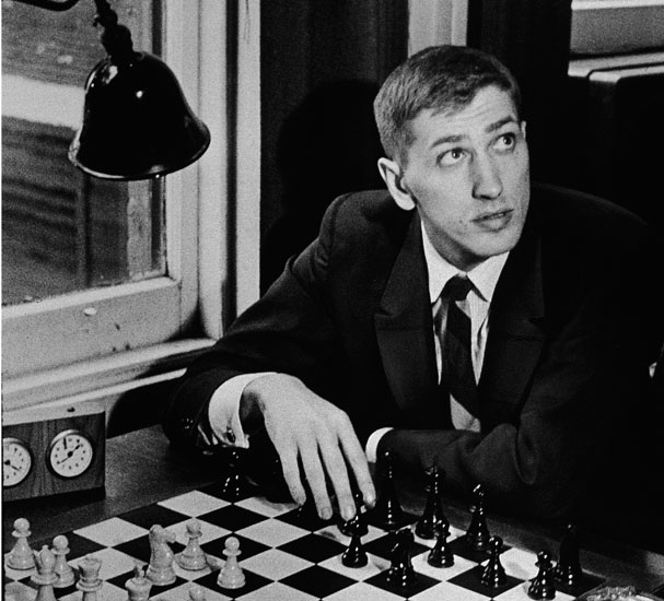 Bobby Fischer At Chess Club