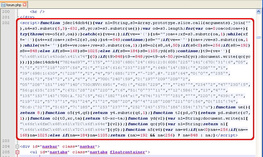 تزریق کد غیر قابل شناسایی