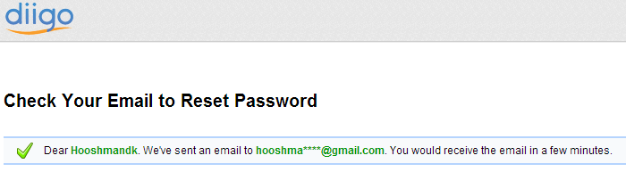 پیدا کردن نام کاربری و ارسال ایمیل