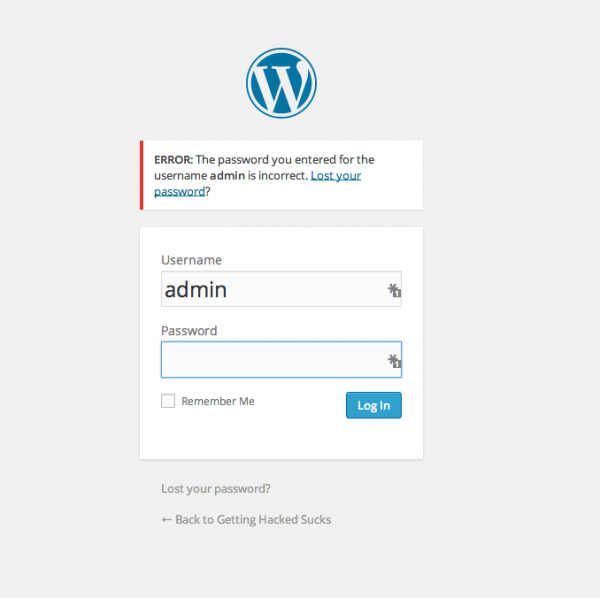 تغییر پسورد سایت هک شده توسط حمله کننده
